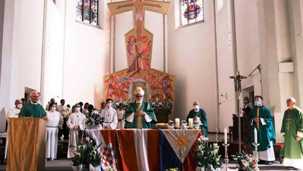 SONNTAG DER VÖLKER - Nedjelja naroda održana u Hrvatskoj katoličkoj župi Salzburg