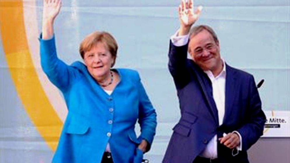 MERKEL pozvala Nijemce da glasaju za Lascheta 'u ime budućnosti' zemlje