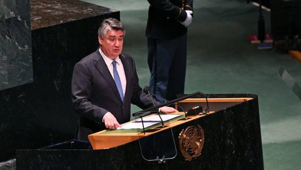 Predsjednik Milanović se danas sastaje s 15 uspješnih Hrvata u New Yorku