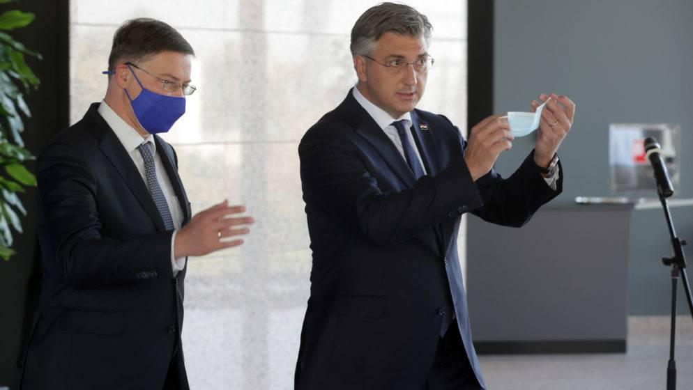 Plenković: Vjerujem da ćemo biti spremni za ulazak u europodručje 1. siječnja 2023.
