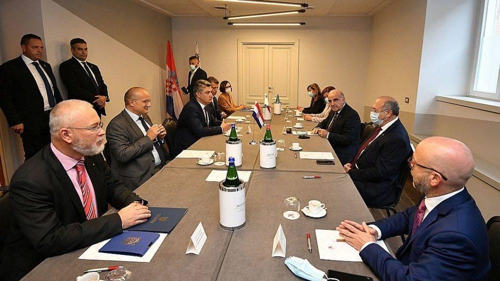Milanović se sastao s predsjednikom Malte u Rimu