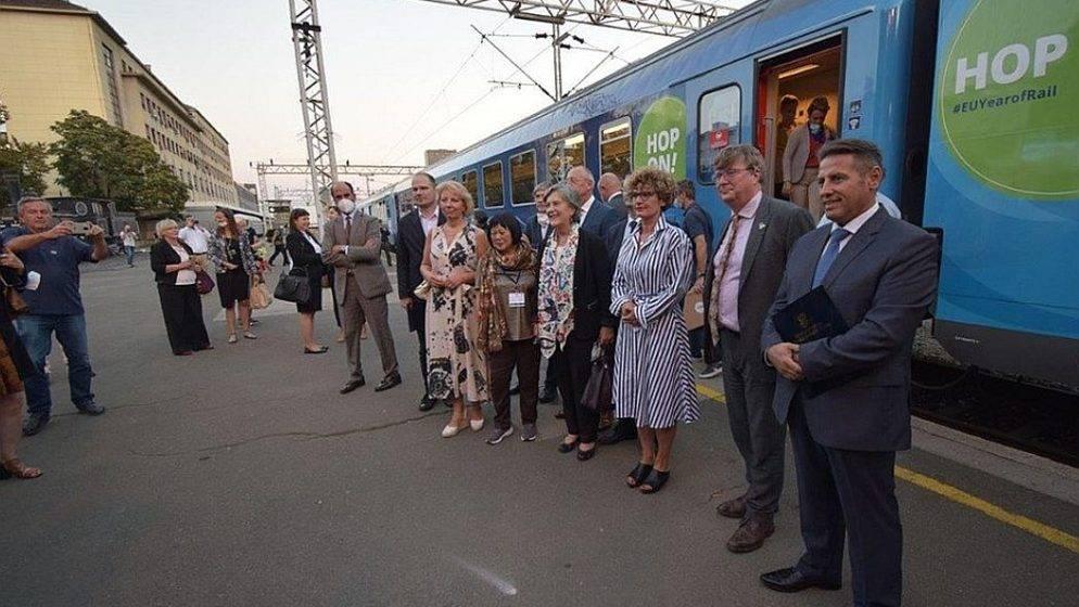 U Zagreb stigao vlak Connecting Europe, vlak koji povezuje 26 zemalja
