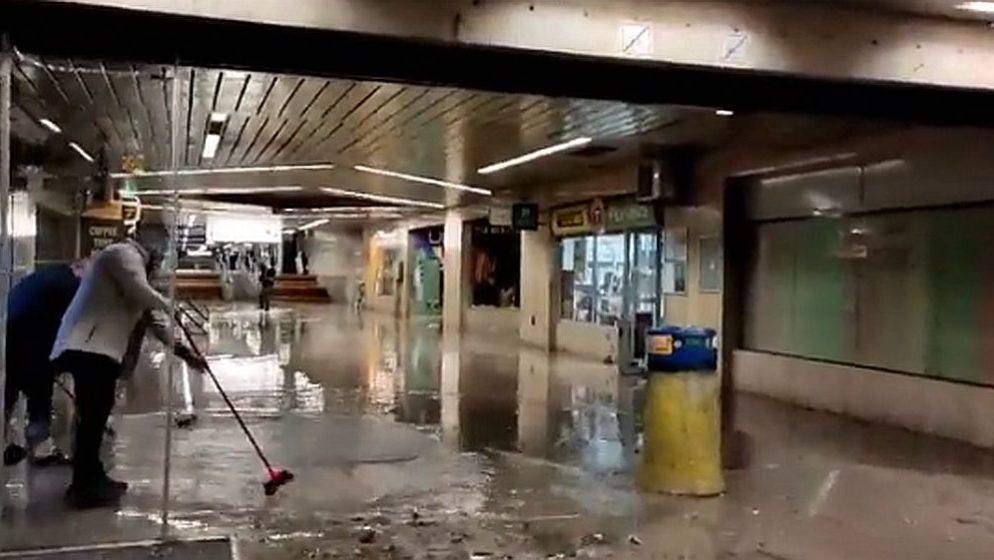 (VIDEO) Potop u Ljubljani: Nevjerojatni prizori posljedica nevremena