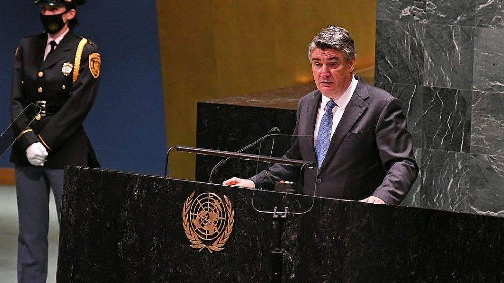 Pročitajte govor hrvatskog predsjednika na Općoj skupštini UN-a