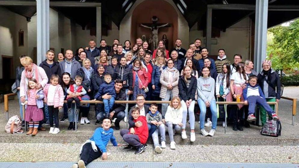 Hrvati iz Frankfurta i Wiesbadena na izletu i duhovnoj obnovi u Marienthalu