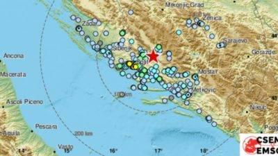 Jak potres 4.6 na granici s BiH kod Buškog jezera, osjetio se u Dalmaciji